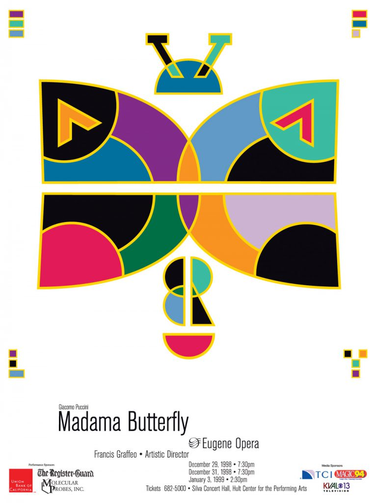 Eugene Opera poster - Madama Butterfly