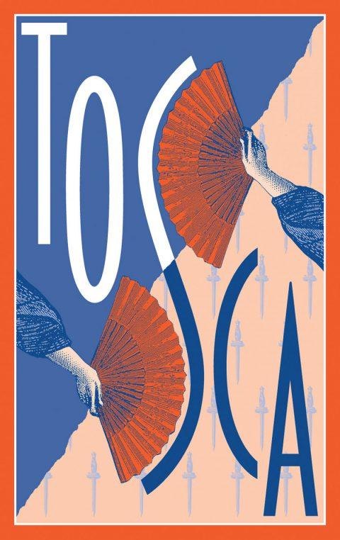 Eugene Opera poster - Tosca