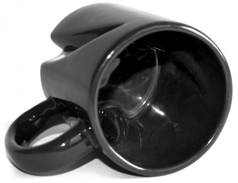 InStirring coffee mug