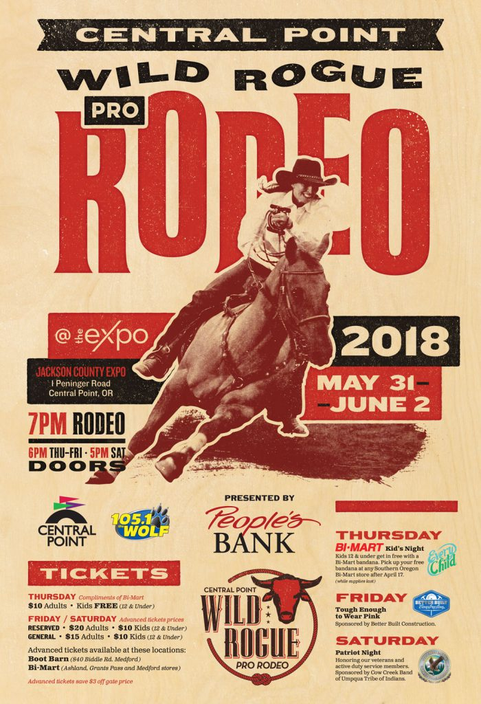 Make me a poster of an old rodeo