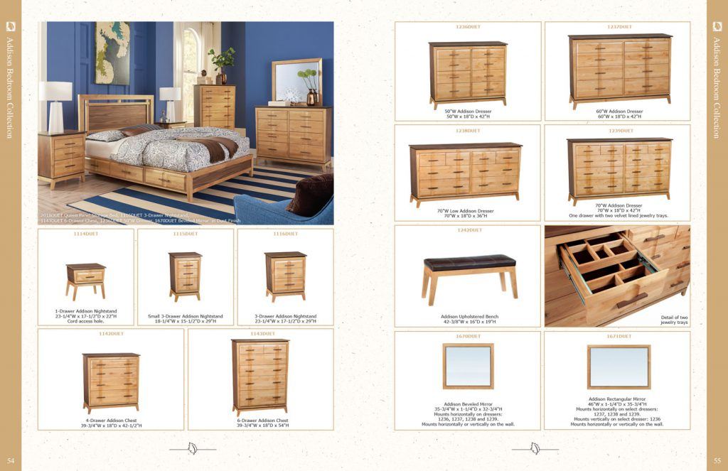 Whittier Wood Products print catalog