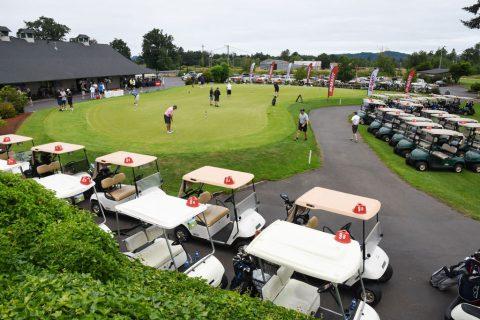 The Bi-Mart Scholarship Golf Invitational tournament, Emerald Valley Golf Course