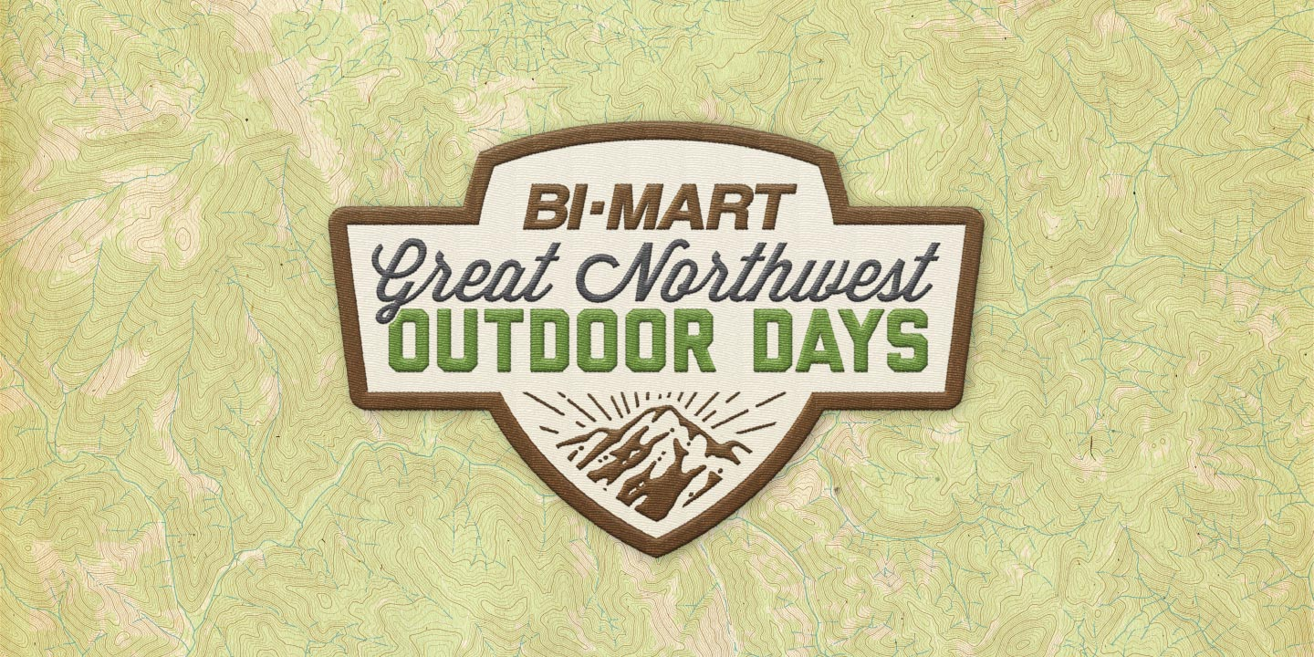 Bi-Mart Great Northwest Outdoor Days annual retail sales event